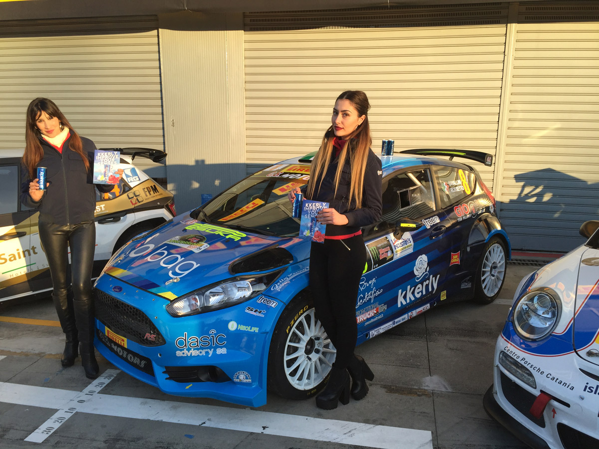 KKERLY AL MONZA RALLY SHOW 2016